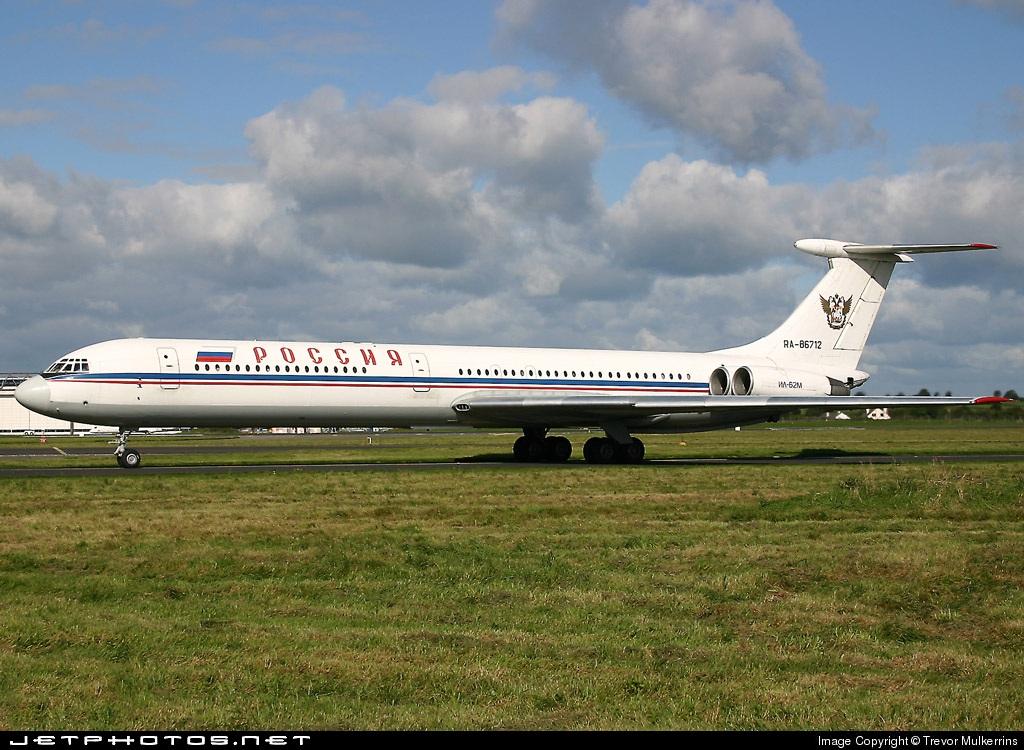 RA-86712 - Ilyushin IL-62M - Russia - State Transport Company