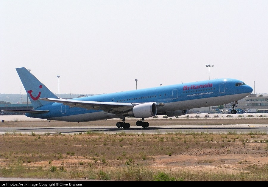 - Boeing 767-300 - Britannia Airways