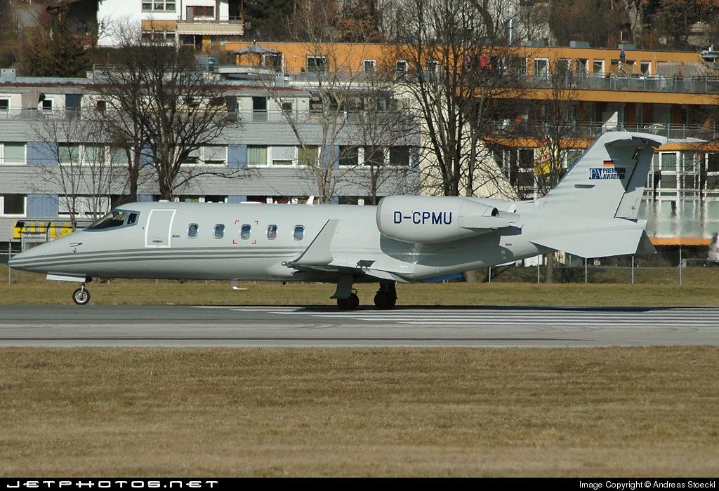 D-CPMU - Bombardier Learjet 60 - Premium Aviation