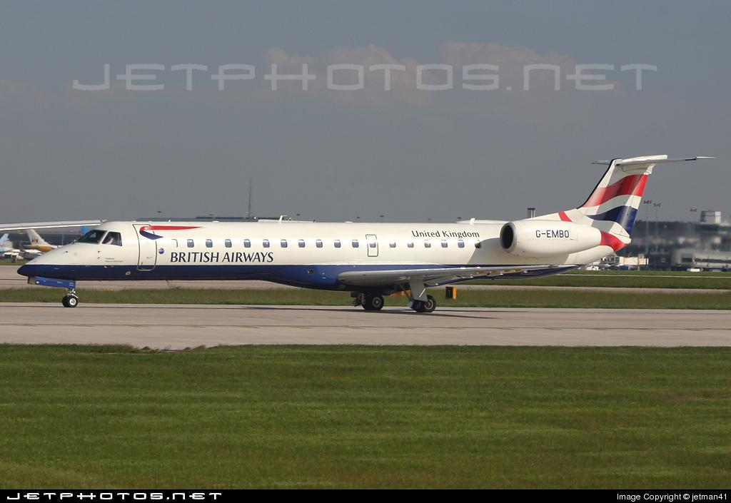 G-EMBO - Embraer ERJ-145EU - British Airways (CitiExpress)