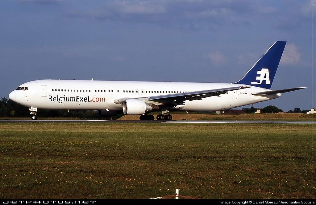 PH-AHY - Boeing 767-383(ER) - BelgiumExel