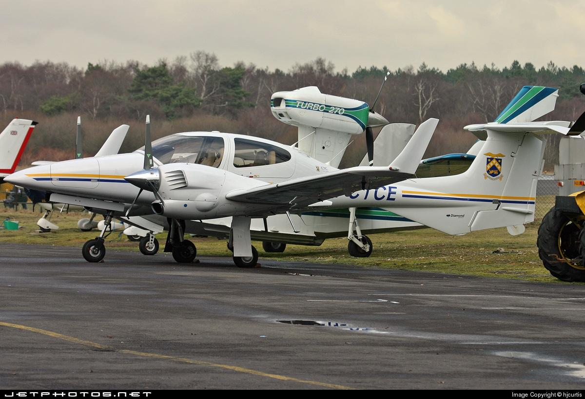 G-CTCE - Diamond DA-42 Twin Star - Private