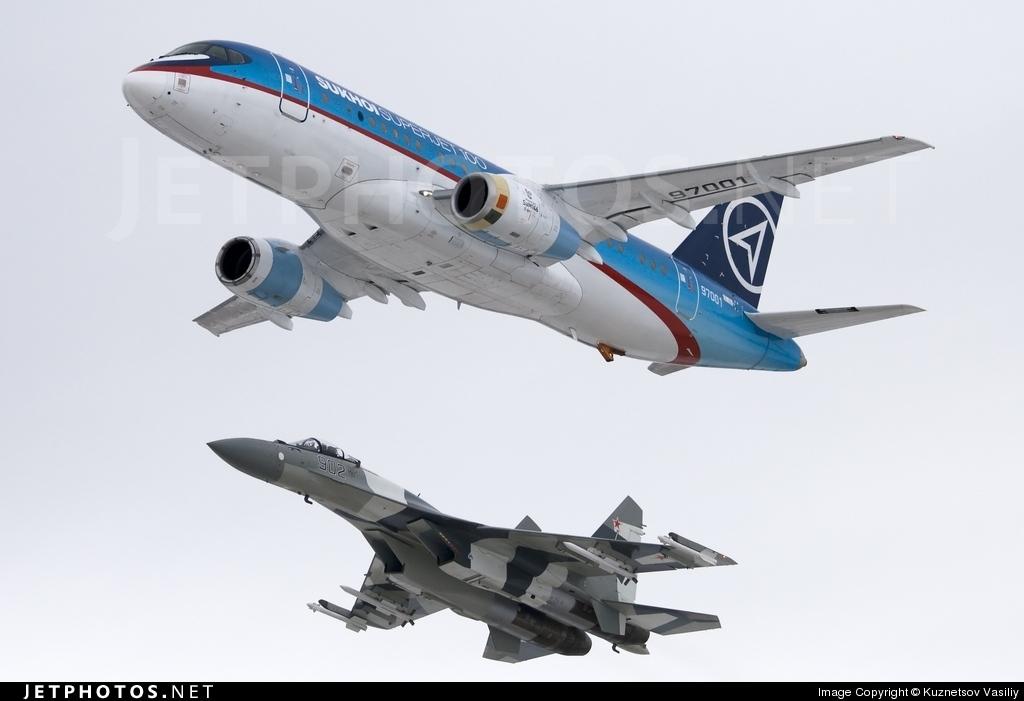97001 - Sukhoi Superjet 100-95 - Sukhoi Design Bureau