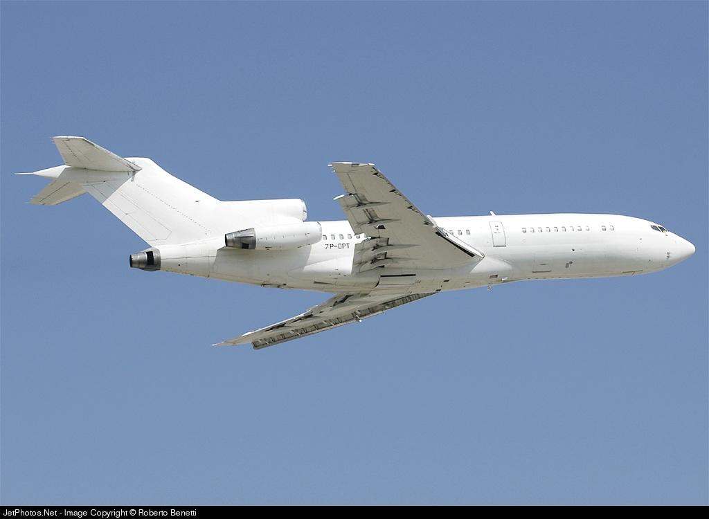 7P-DPT - Boeing 727-30 - Aero Africa