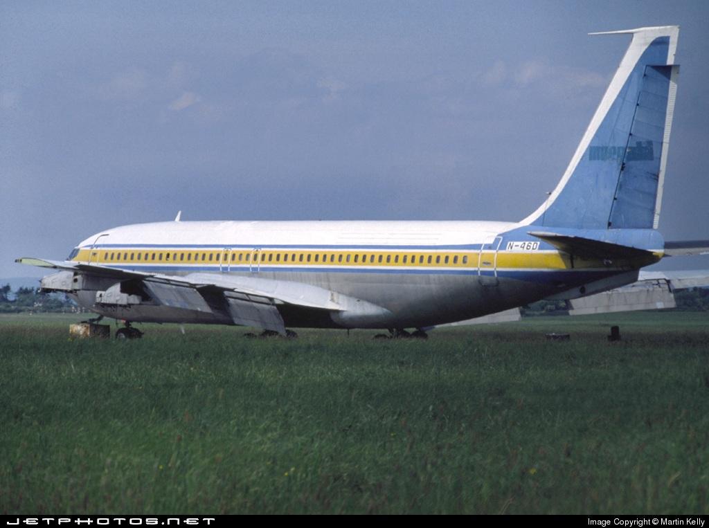 N46D - Boeing 707-138B - Merpati Nusantara Airlines