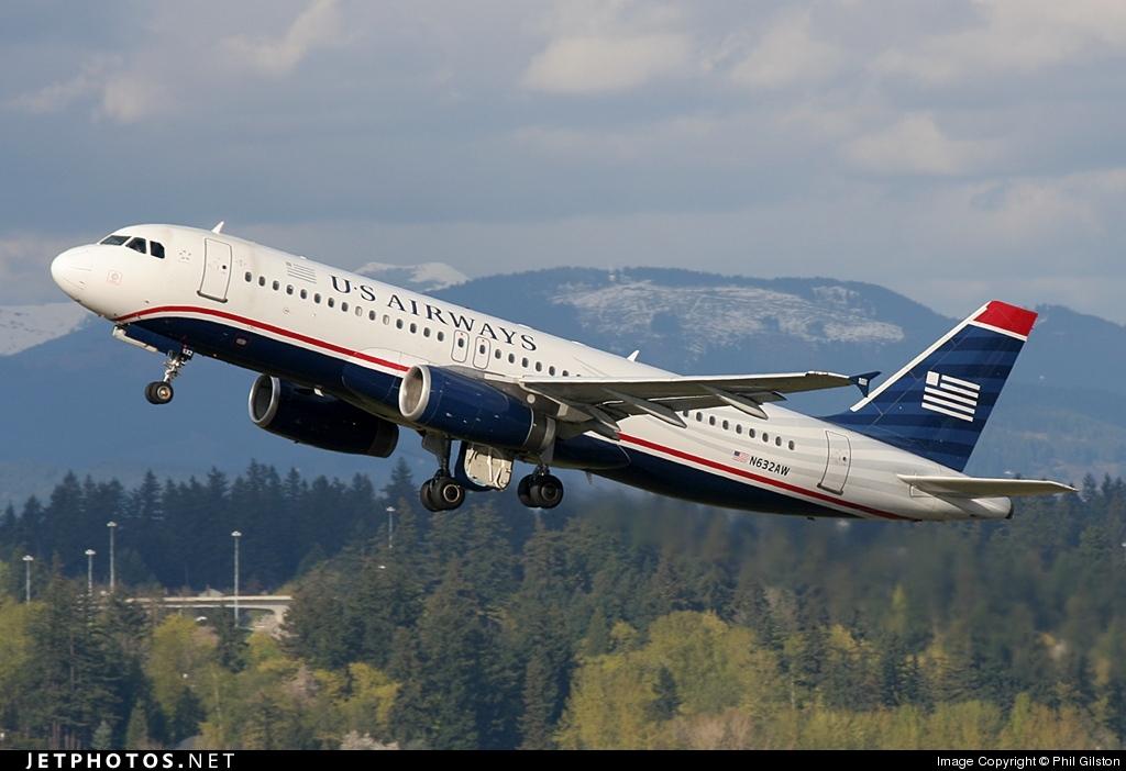 N632AW - Airbus A320-231 - US Airways