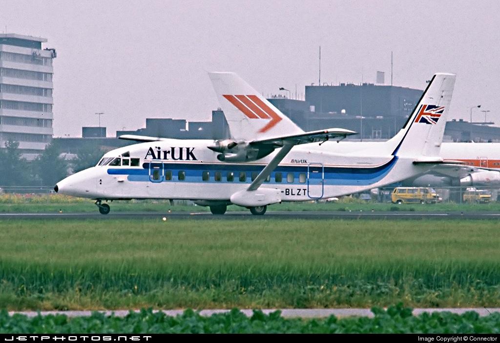 G-BLZT - Short 360-100 - Air UK
