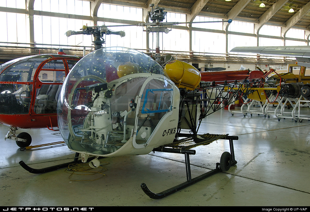 C-FIKS - Bell 47 - Private