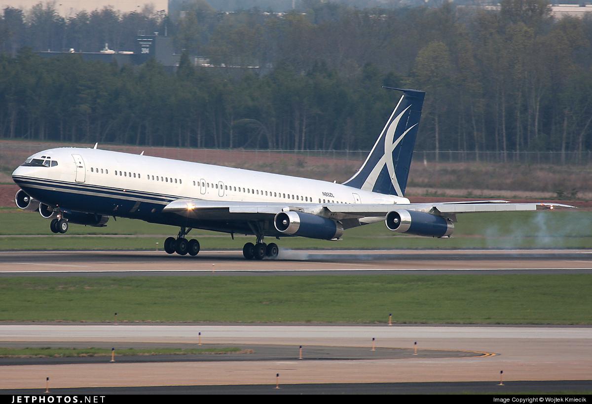 N88ZL - Boeing 707-330B - Private