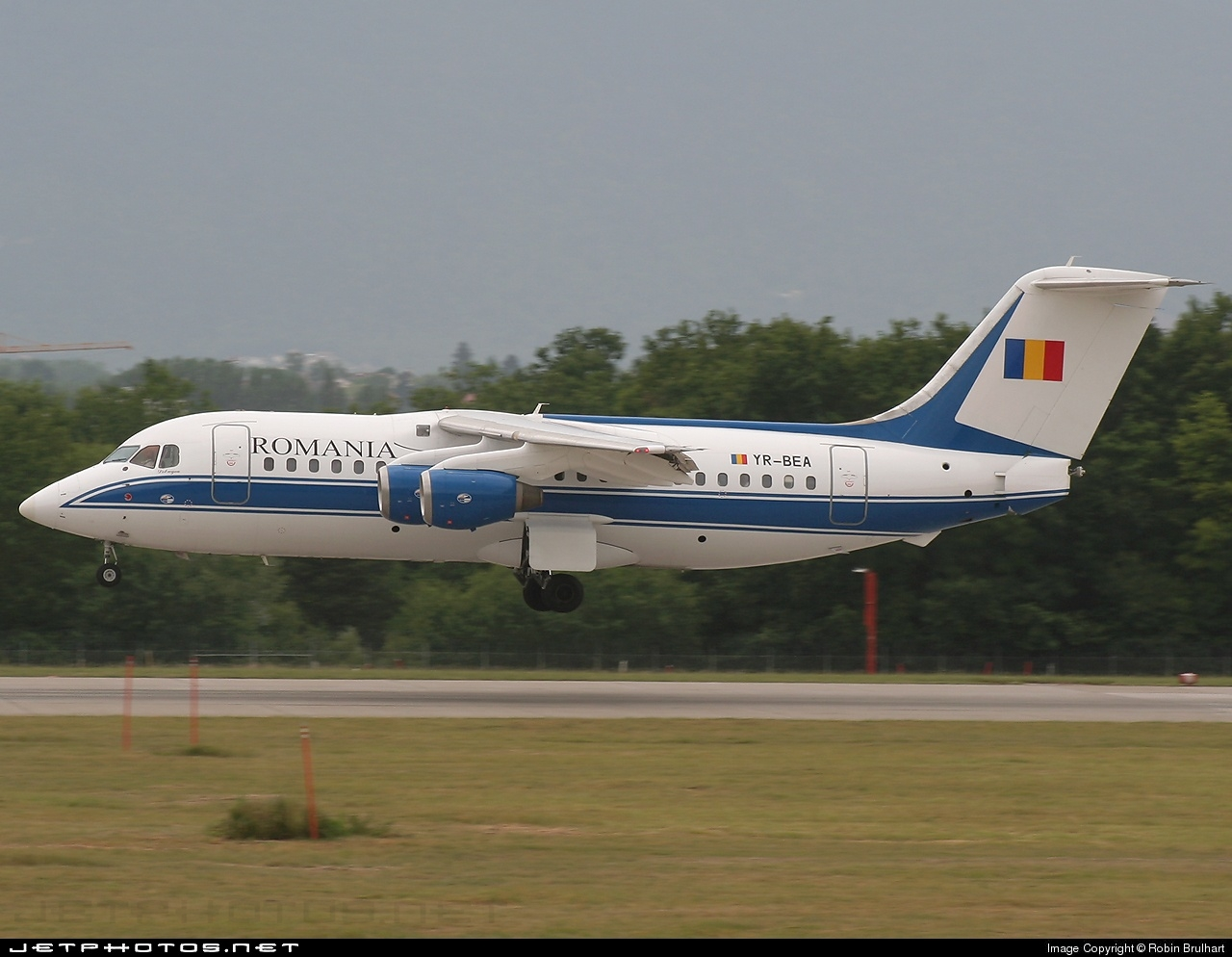 YR-BEA - British Aerospace BAe 146-200 - Romavia
