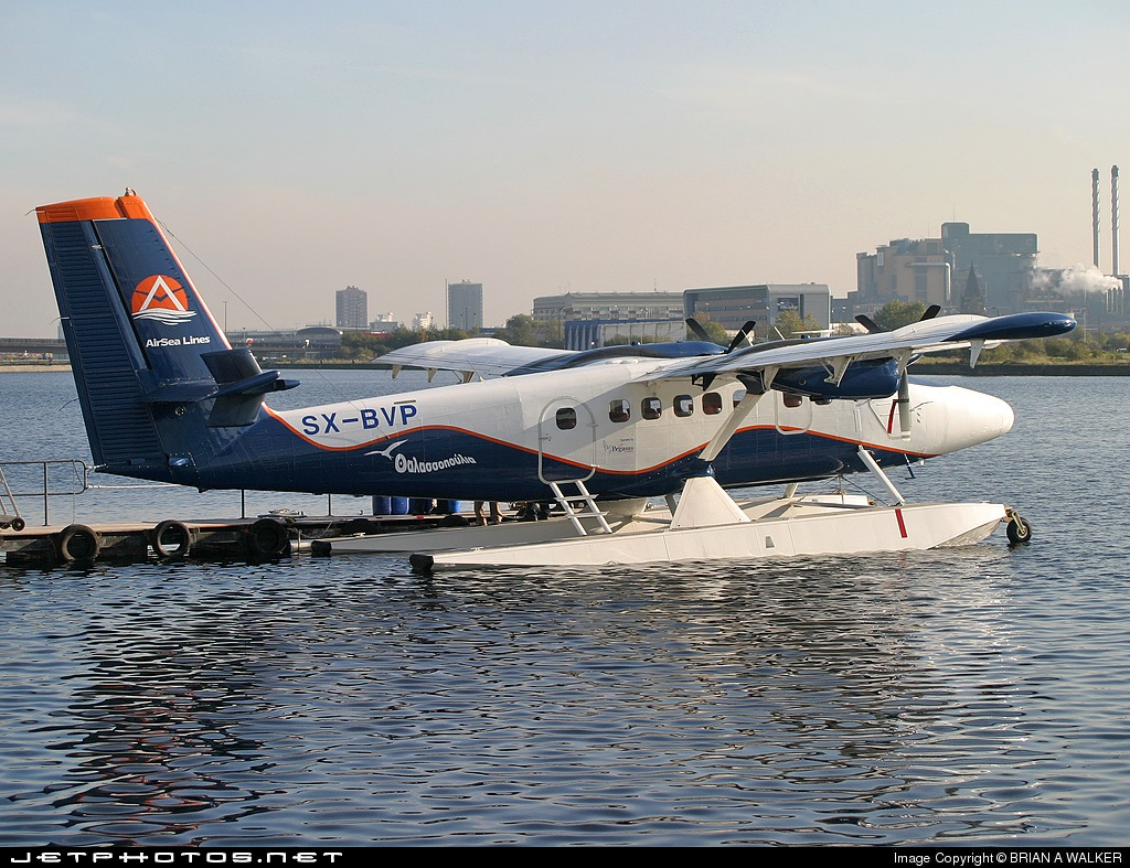 SX-BVP - De Havilland Canada DHC-6-300 Twin Otter - AirSea Lines