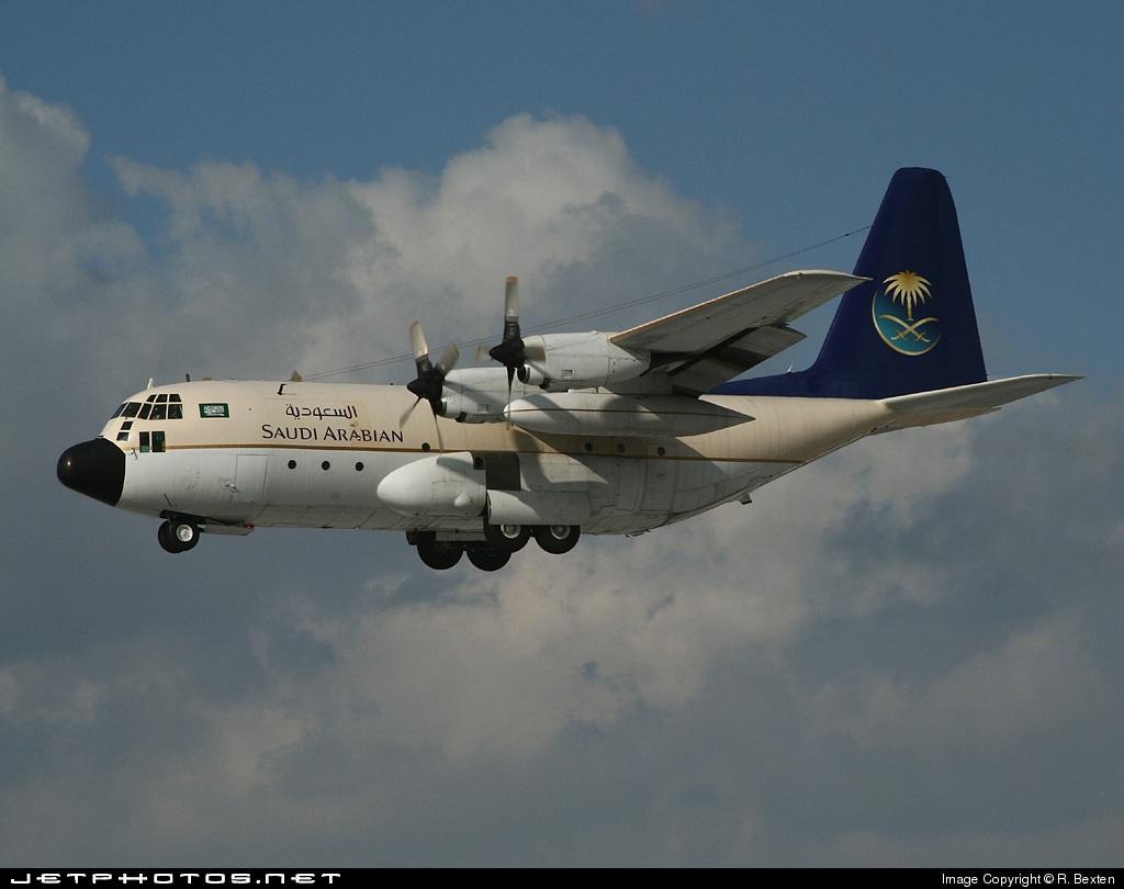 HZ-115 - Lockheed VC-130H Hercules - Saudi Arabian Airlines