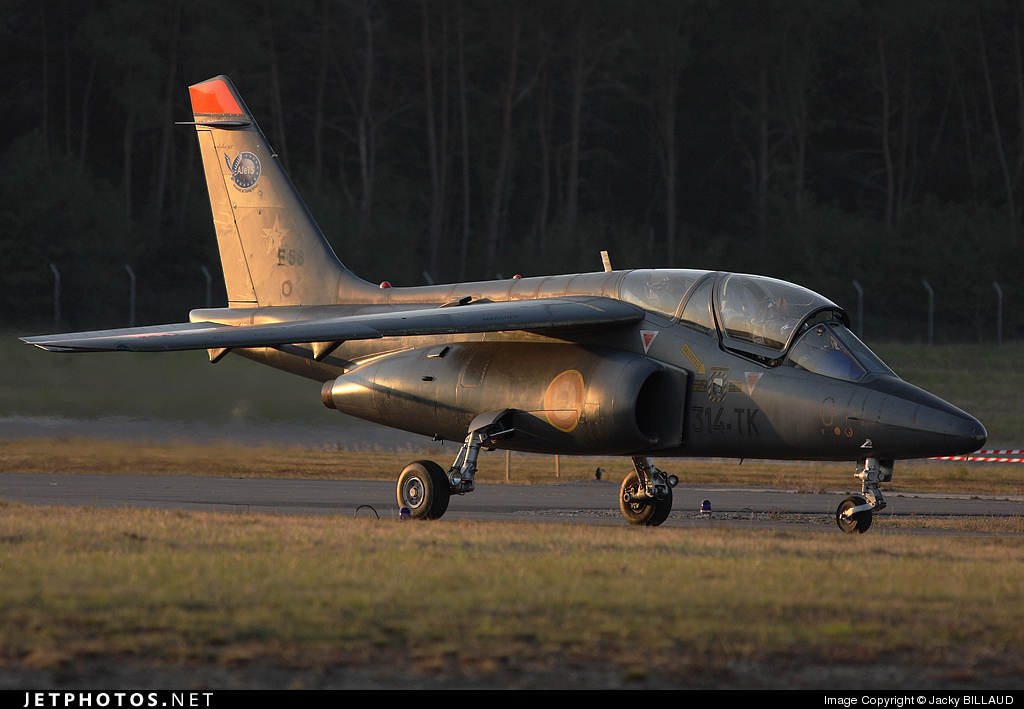 E58 - Dassault-Breguet-Dornier Alpha Jet E - France - Air Force