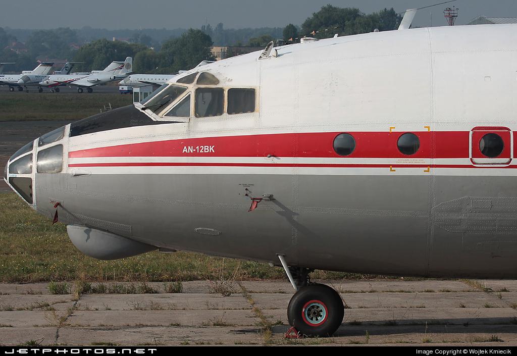 UR-CAG - Antonov An-12BK - Meridian Aviation