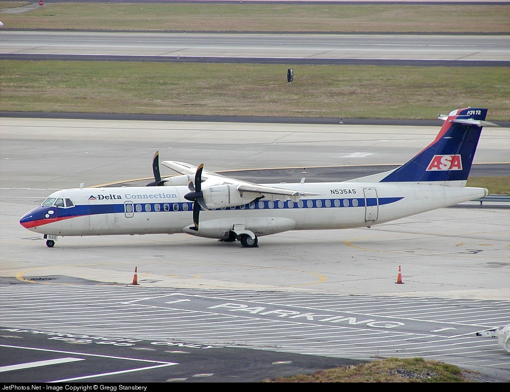 N535AS - ATR 72-212 - Delta Connection (Atlantic Southeast Airlines)