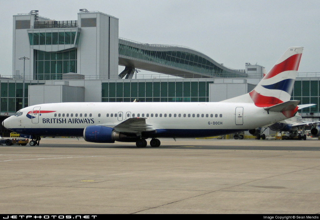 G-DOCH - Boeing 737-436 - British Airways