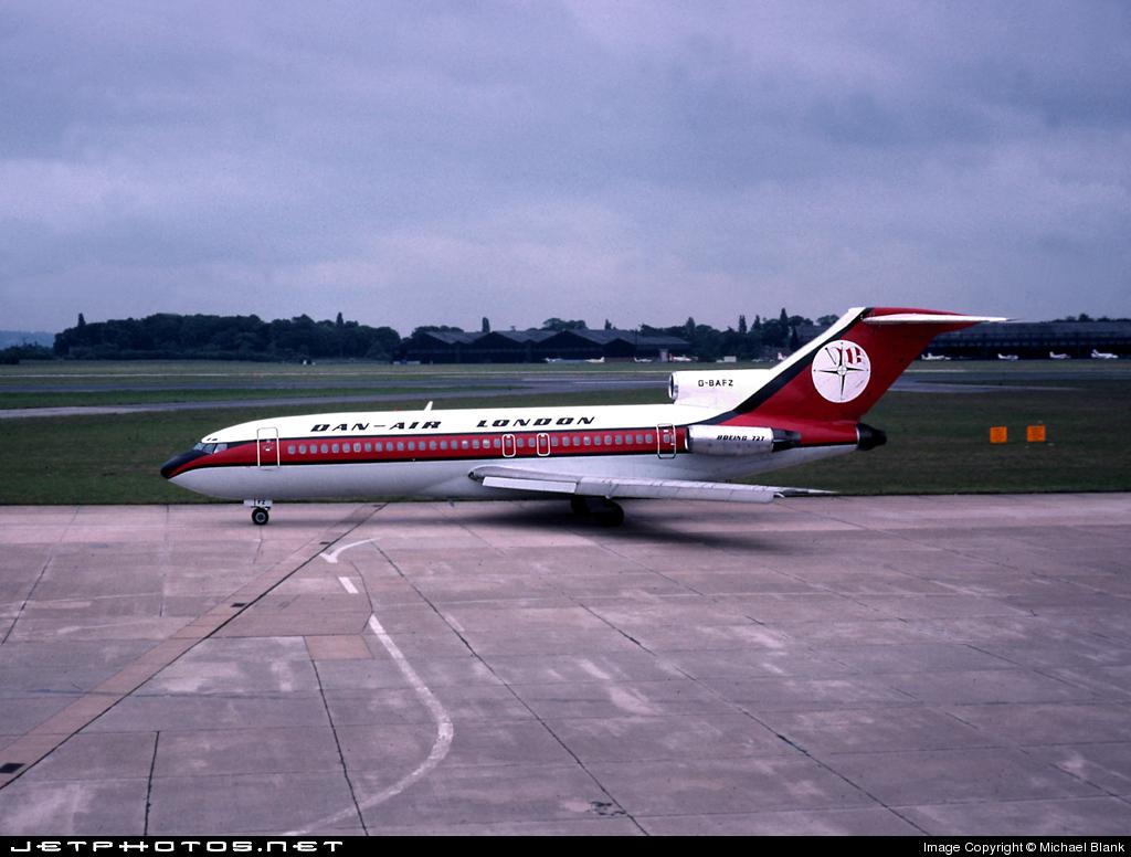 G-BAFZ - Boeing 727-46 - Dan-Air London