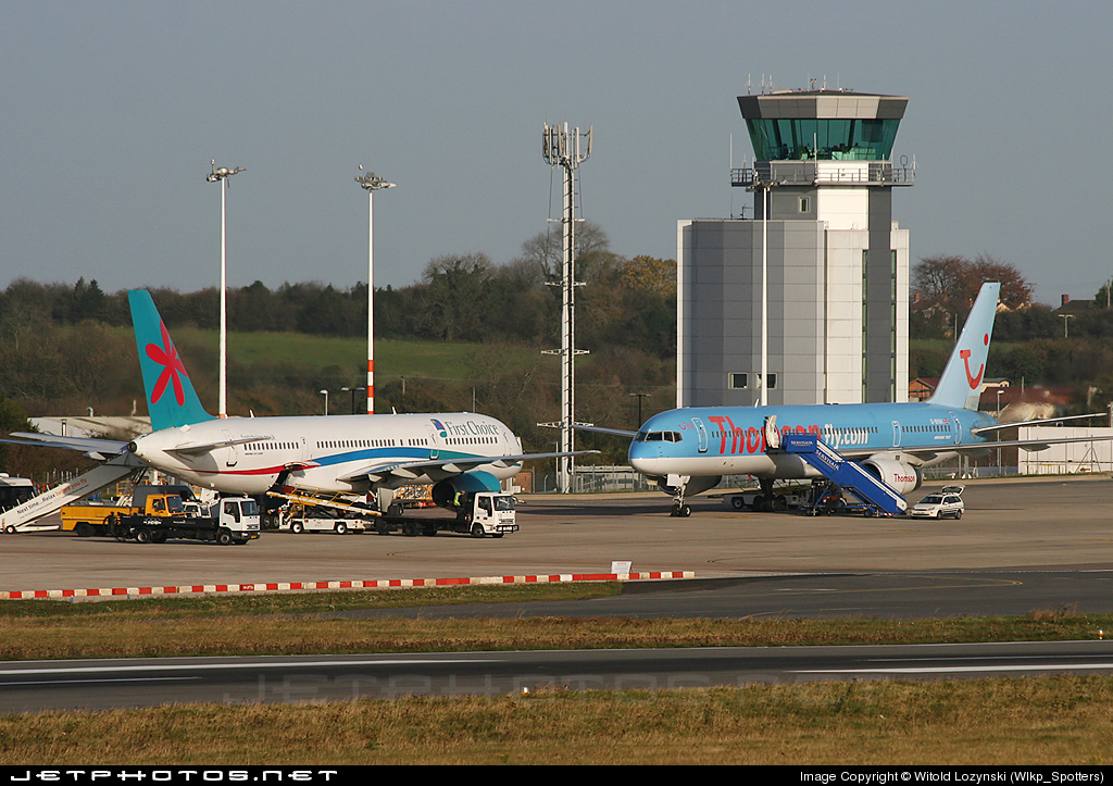 EGGD - Airport - Control Tower