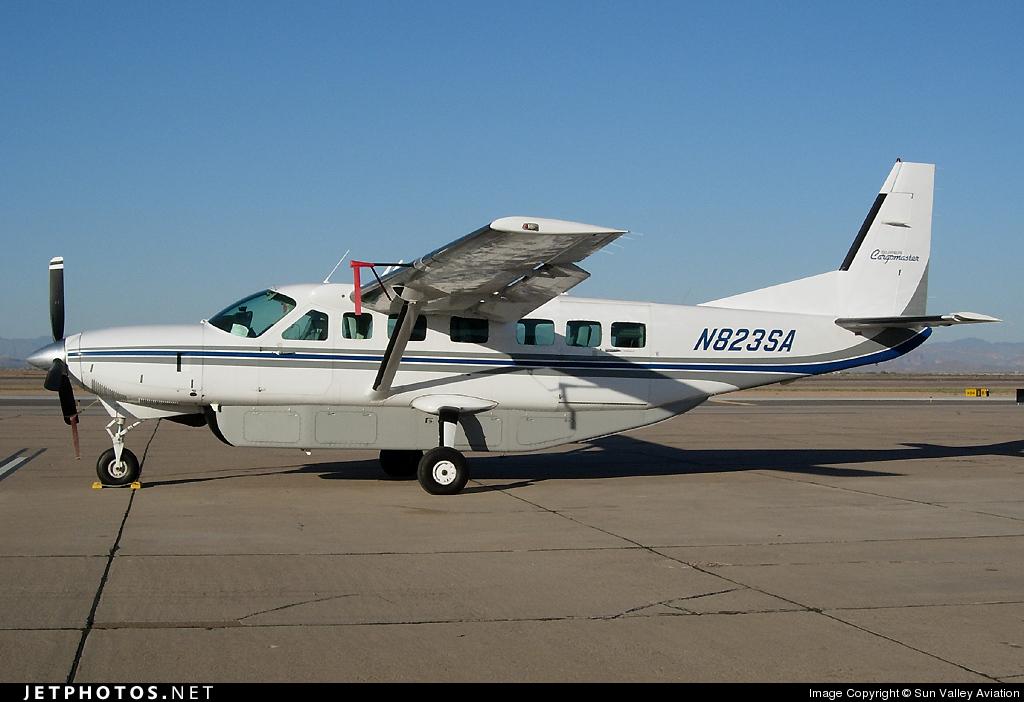 N823SA - Cessna 208B Grand Caravan - Private