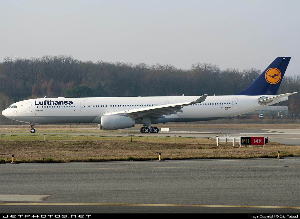 F-WWYX - Airbus A330-343 - Lufthansa
