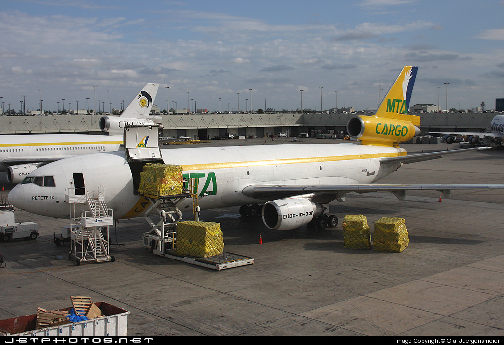 N304SP - McDonnell Douglas DC-10-30(F) - MTA Cargo - Master Top Airlines
