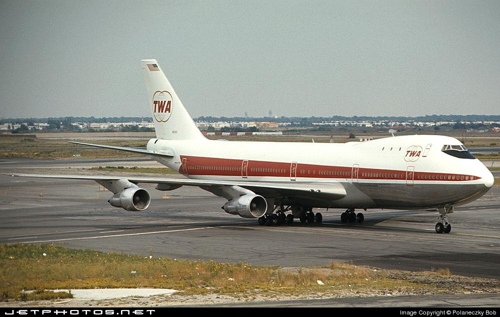 N93102 - Boeing 747-131 - Trans World Airlines (TWA)