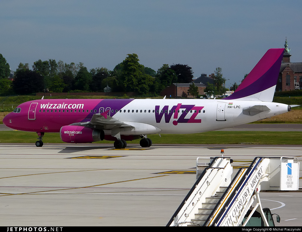 HA-LPC - Airbus A320-233 - Wizz Air