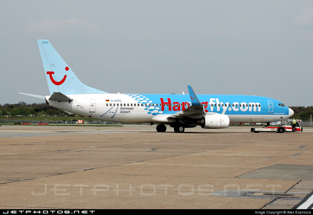 D-AHFC - Boeing 737-8K5 - TUIfly