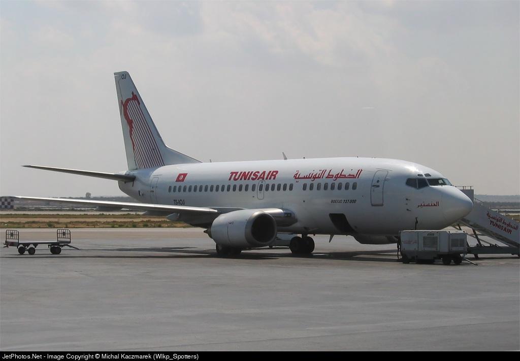 TS-IOJ - Boeing 737-5H3 - Tunisair