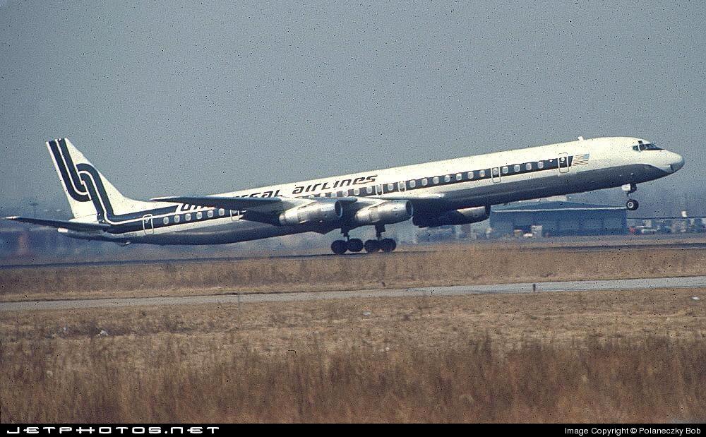 N802U - Douglas DC-8-61(CF) - Universal Airlines