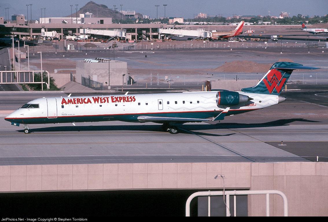 N511MJ - Bombardier CRJ-701 - America West Express (Mesa Airlines)