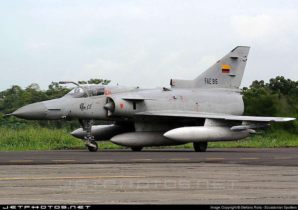 FAE915 - IAI Kfir C2 - Ecuador - Air Force