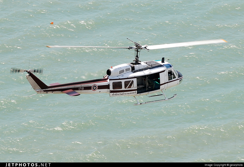 1710 - Bell UH-1H Iroquois - Thailand - Royal Thai Police Wing