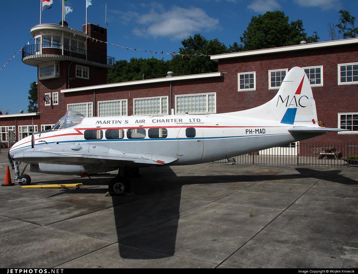 PH-MAD - De Havilland DH-104 Dove - Aviodrome Museum