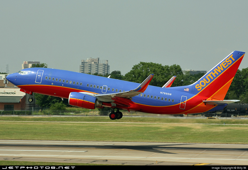 N789SW - Boeing 737-7H4 - Southwest Airlines