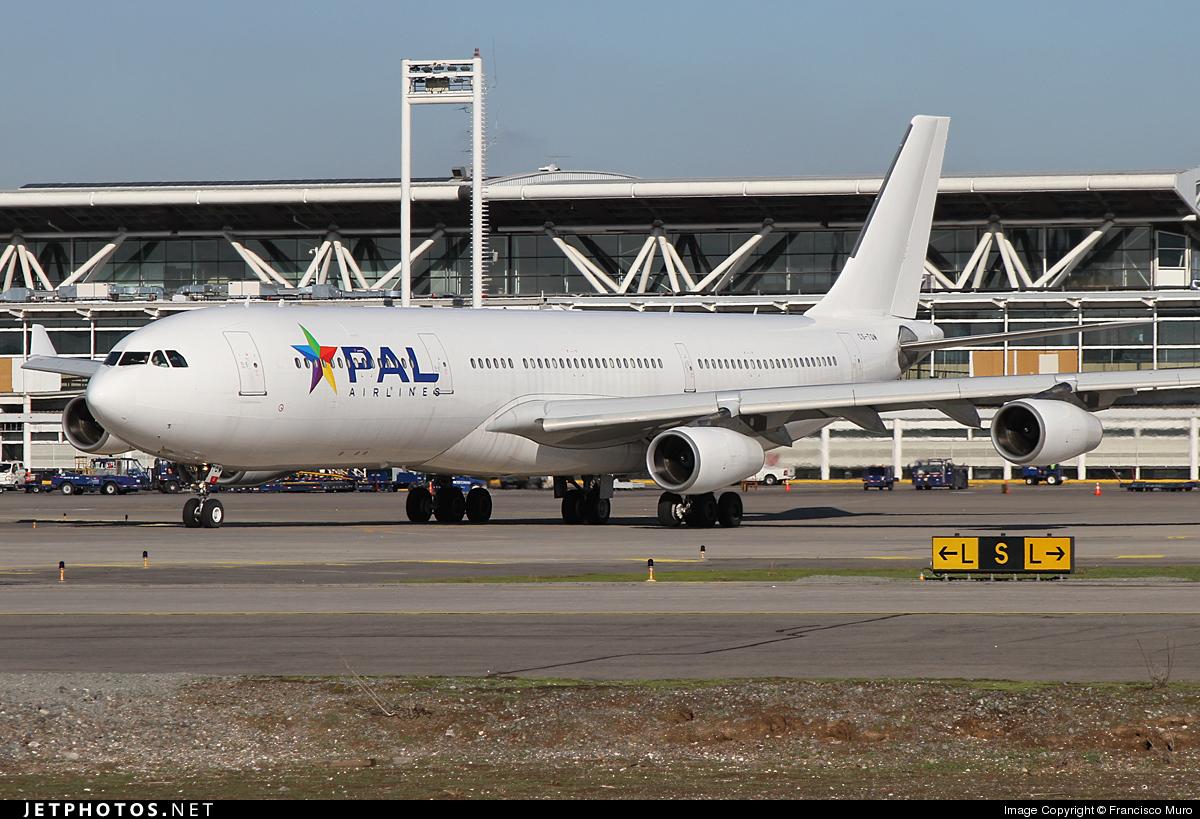 CS-TQM - Airbus A340-313X - PAL Airlines (Hifly)