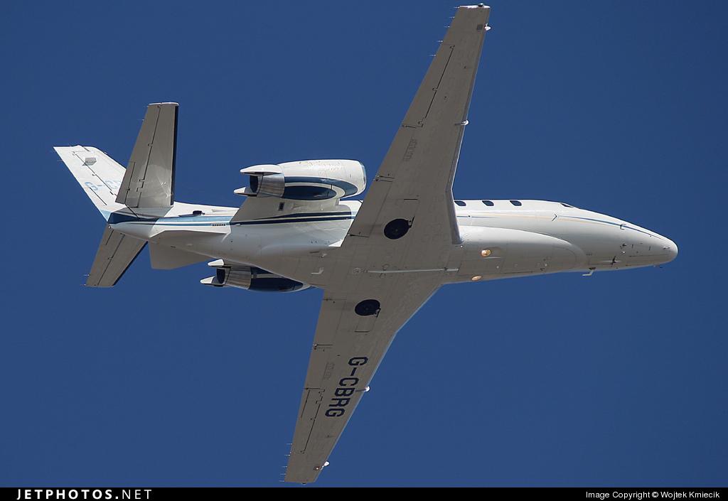 G-CBRG - Cessna 560XL Citation Excel - Eurojet