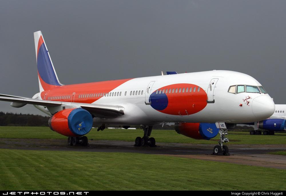 G-JALC - Boeing 757-225 - MyTravel Airways