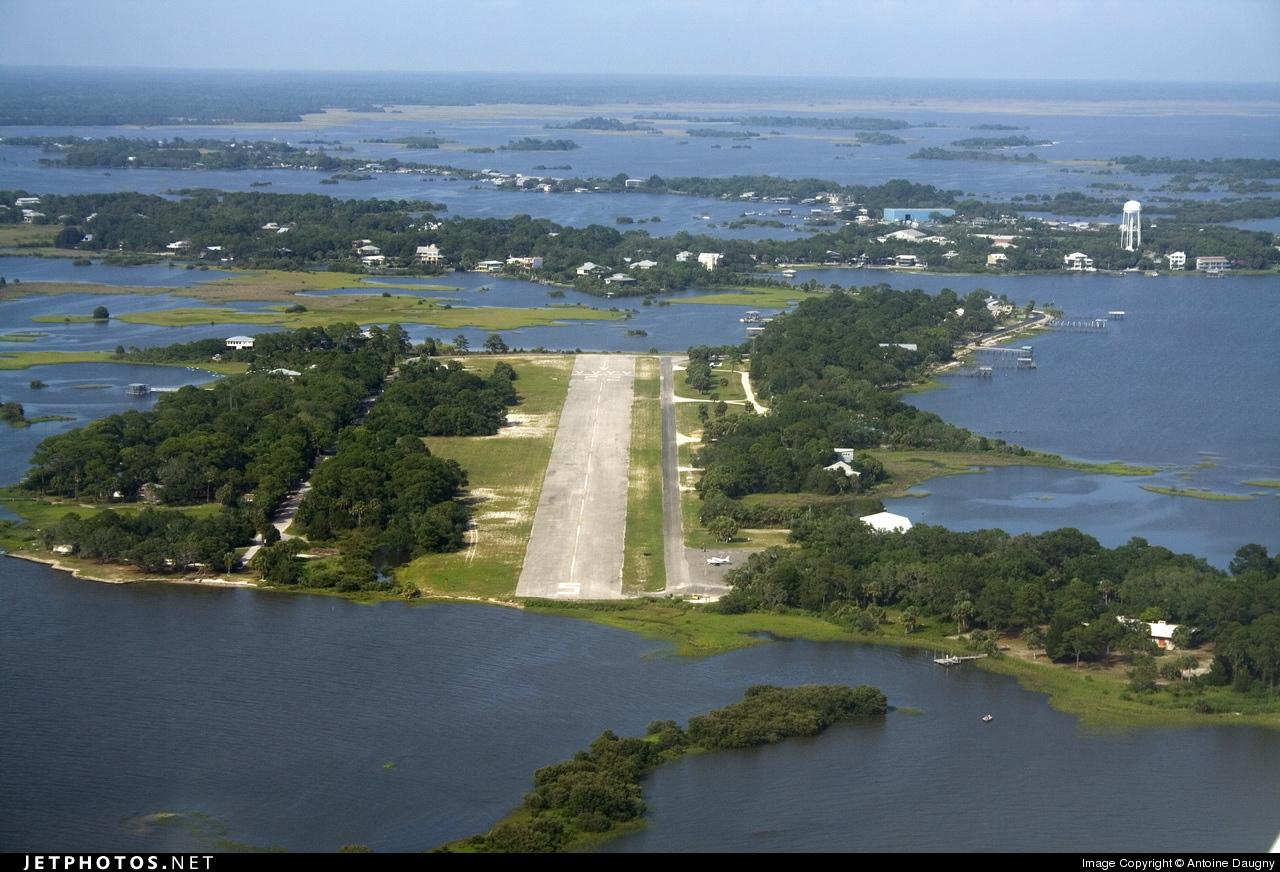 Cedar Key Florida ~ Kcdk airport overview antoine daugny jetphotos