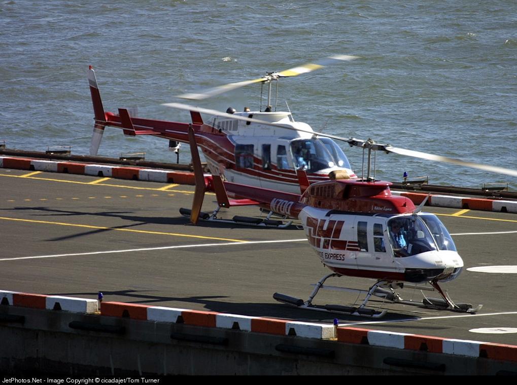 N7DQ - Bell 206L-1 LongRanger - DHL (ASTAR Air Cargo)