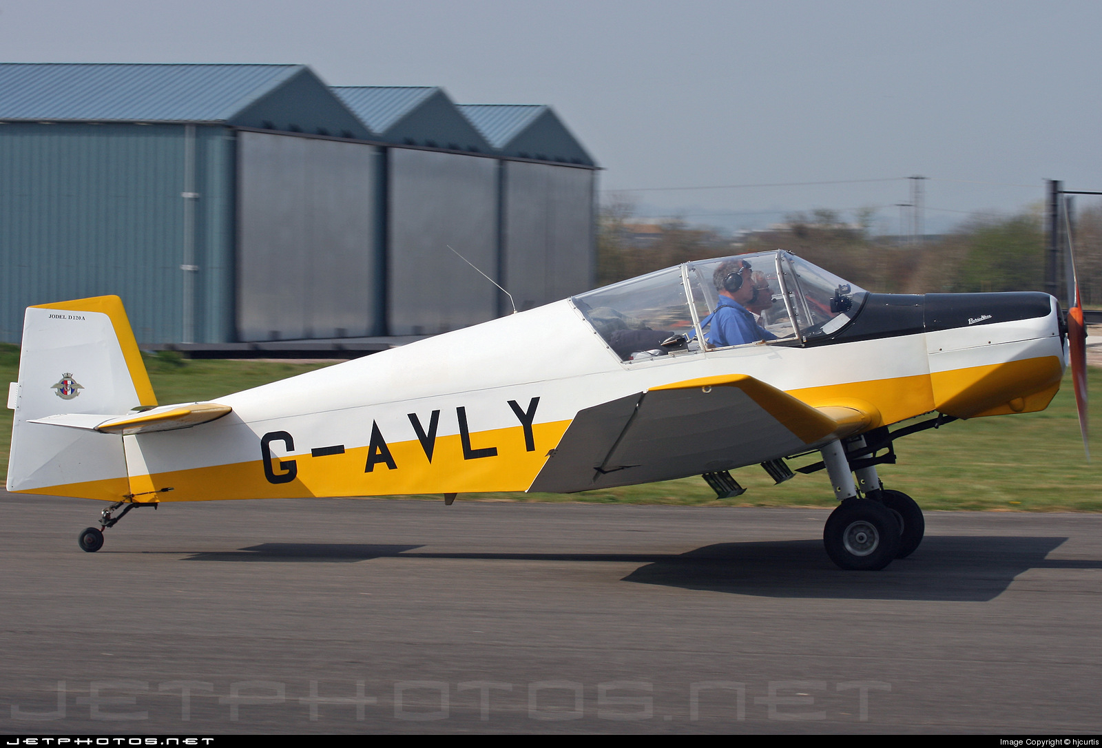 G-AVLY - Jodel D120 Paris-Nice - Private