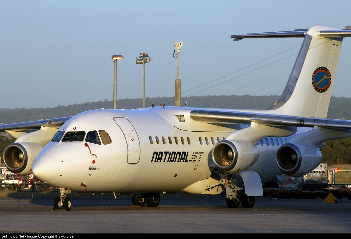 VH-NJU - British Aerospace BAe 146-200 - National Jet Systems (NJS)
