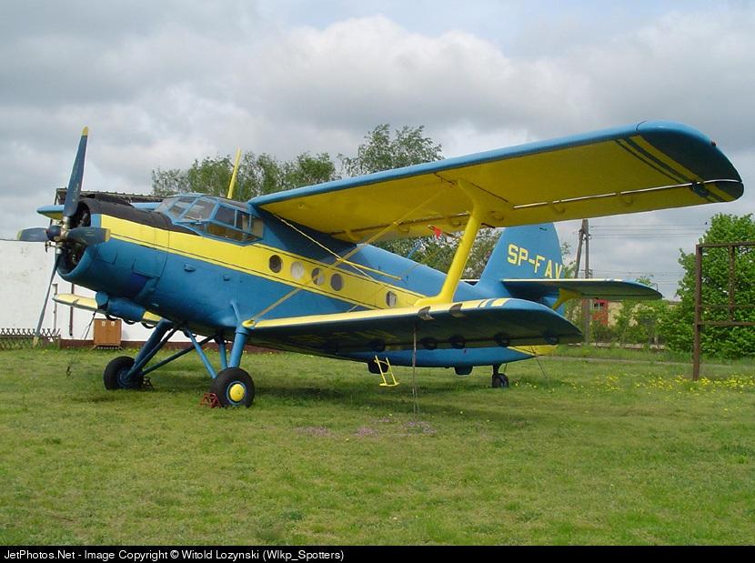 SP-FAV - PZL-Mielec An-2 - Private