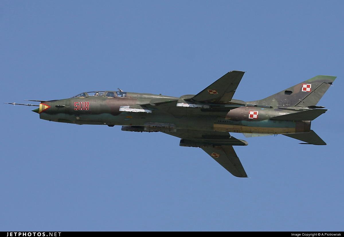 508 - Sukhoi Su-22UM Fitter - Poland - Air Force