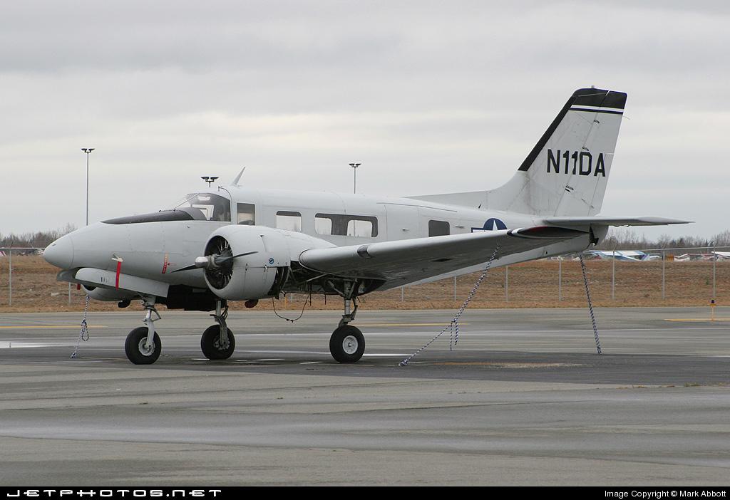 N11DA - Beech C-45G Expeditor - Private