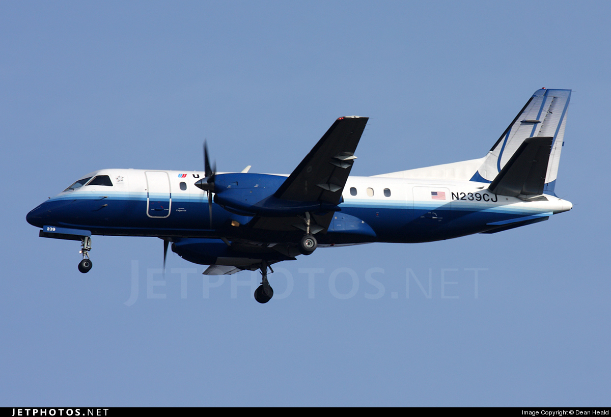 N239CJ - Saab 340B - United Express (Colgan Air)