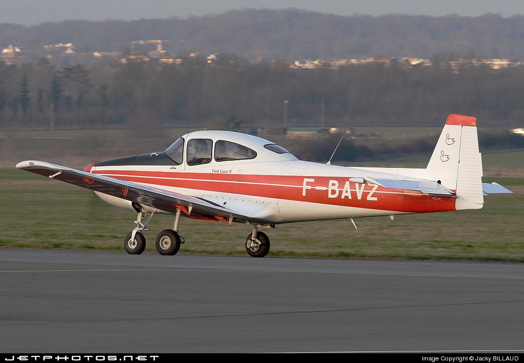 F-BAVZ - North American NAvion - Private