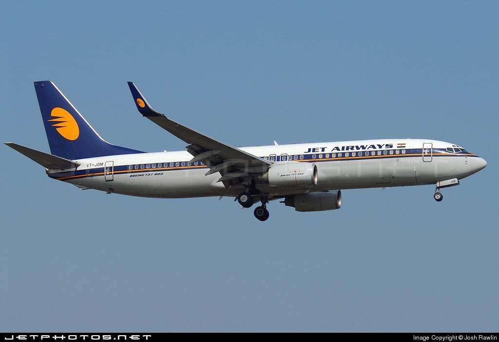 VT-JGM - Boeing 737-83N - Jet Airways