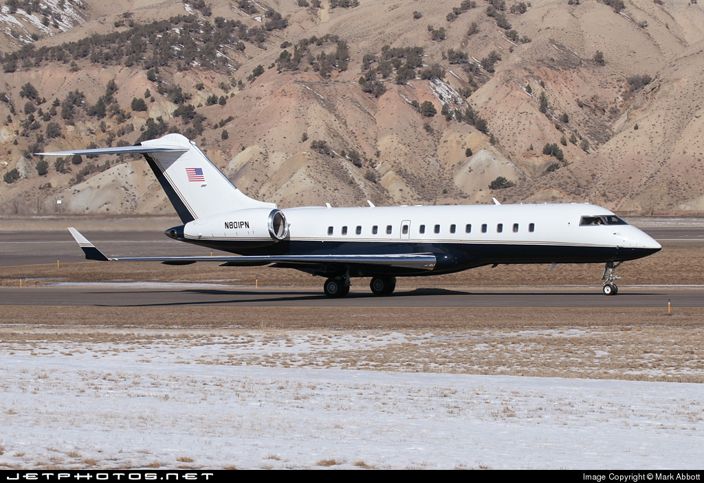 N801PN - Bombardier BD-700-1A10 Global Express - Private