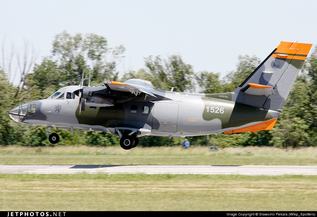 1526 - Let L-410FG Turbolet - Czech Republic - Air Force